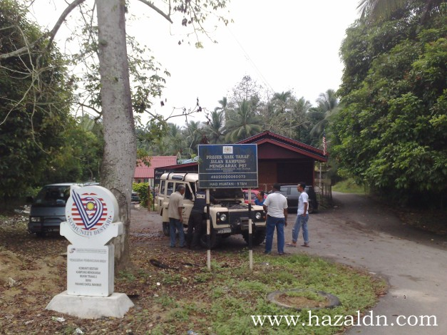 Kem Topo di Pusat Sumber Mengkarak Pahang