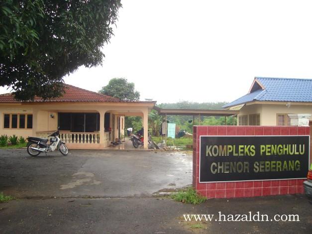 Kem Topo di Balai Penghulu Chenor Pahang