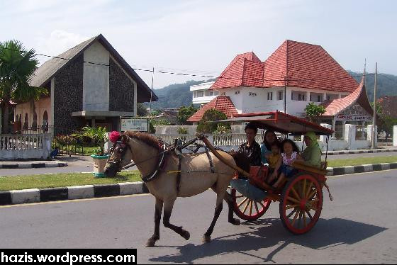Horse_cart_in_Padang-Padang