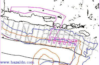 bentuk peta hidrografi