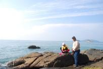 Bos kami dengan En Saipul sewaktyu di Pulau Agas.