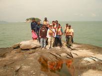 Krew topo di Pulau Payung