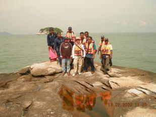 Krew En Rosli / En Andrew di Pulau Payung Lumut Perak.