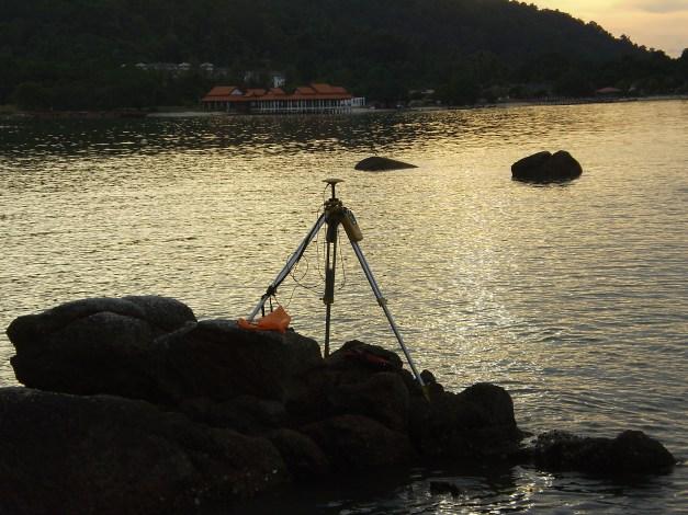 cerapan GPS di Pulau Pangkor