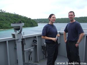 LHST Spencer dan Lt Brown