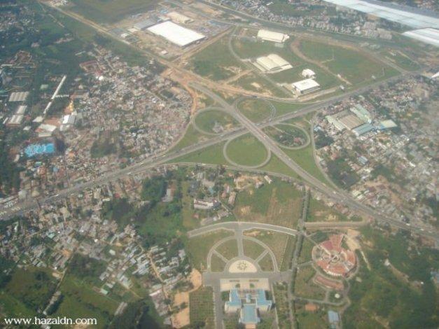 Bandar HCM dari Udara.