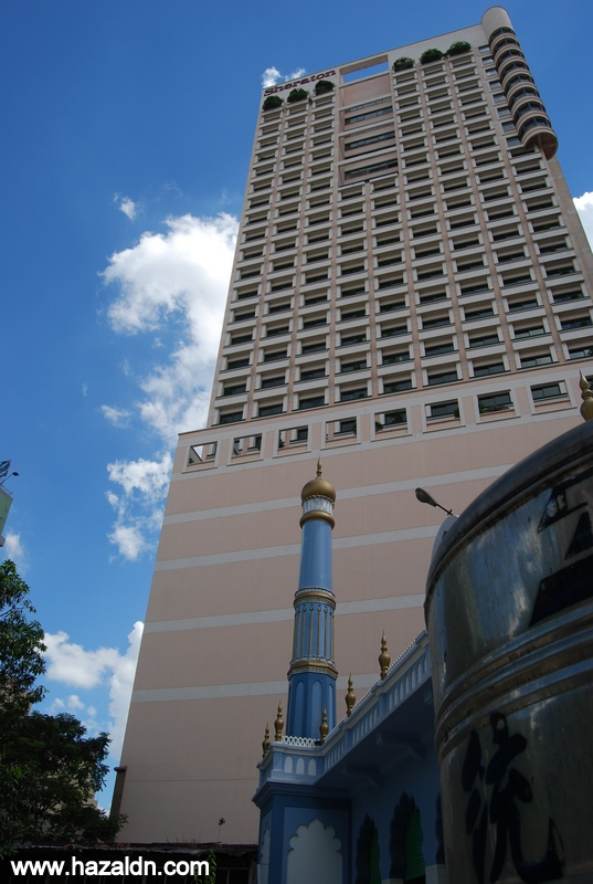 masjid di pusat bandar ho chi minh
