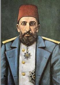 1909 Abdulhamid-II _ Sultan Turki