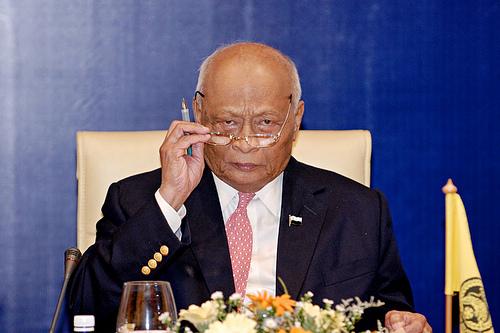 Presiden Persatuan Bolasepak Malaysia FAM Sultan Ahmad Shah