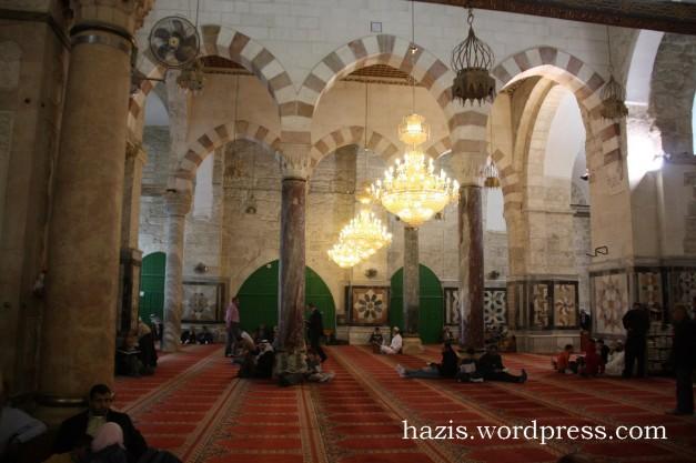 3.3 tiang masjid al-aqsa