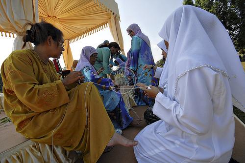 perkahwinan cucu sultan pahang