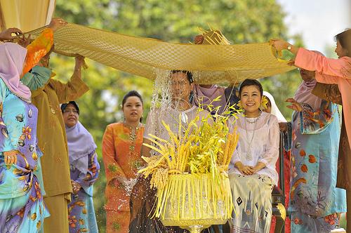 istiadat bersiram_perkahwinan cucu sultan pahang