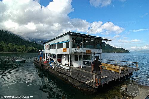 bot ini yang membawa kami ke Sg Belimbing Tasek kenyir