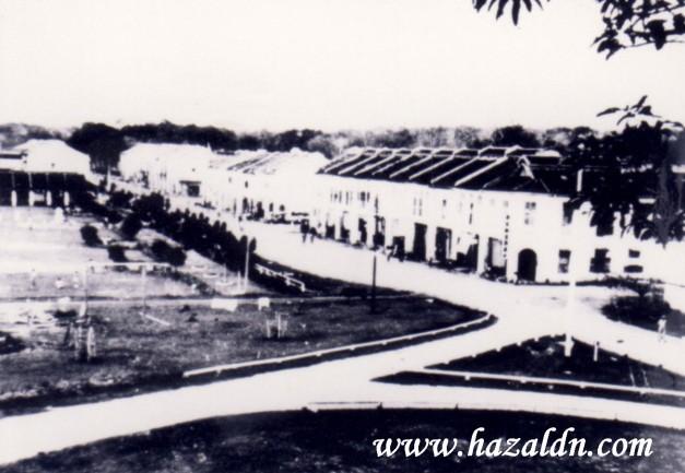Bandar Mentakab dilihat dari kawasan Masjid Bandar Mentakab 1
