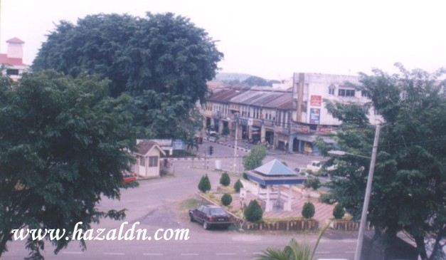 Bandar Mentakab dilihat dari kawasan Masjid Bandar Mentakab 2