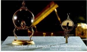 BEBERAPA RAMBUT DARI JANGGUT NABI MUHAMMAD SAW