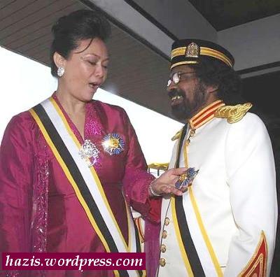 Dua orang Dato  baru terima anugerah dari Sultan pahang