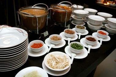 bahan bahan masakan di Kawan Kopitiam