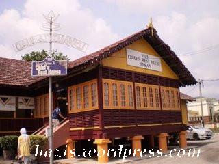 istana lama sultan pahang di Pekan