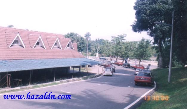 Jalan Istana dalam dua zaman -  Tiada lagi kelihatan Rumah Pasong di tepi Sungai Pahang 1