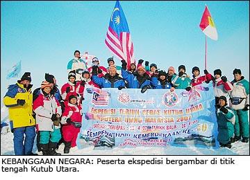 Ekpidisi Malaysia ke kutub utara