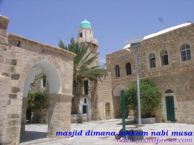 masjid di mana makam nabi musa