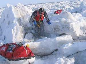Datin sharifah mazlina_syed Abd Kadir di kutub utara