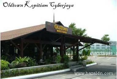 old town kopitiam Cyberiaya