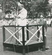 Sultan Abu Bakar Sultan Pahang _ The late Sultan Abu Bakar officially declaring Kuantan as the state capital in 1955, replacing Kuala Lipis.