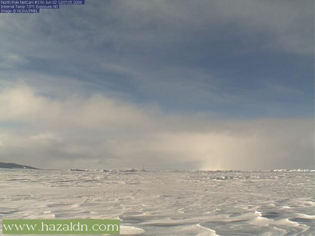 pemandangan di kutub utara