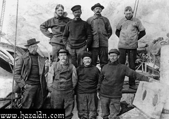 Roald Amundsen and friend_Orang pertama ke kutub Selatan