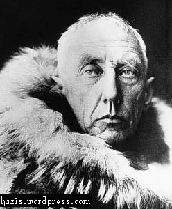 ronald amundsen orang pertama ke kutub selatan