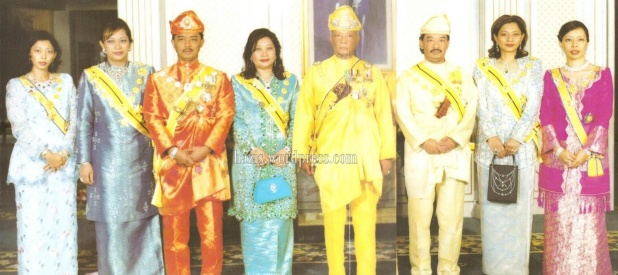 royalfamily of Pahang..
