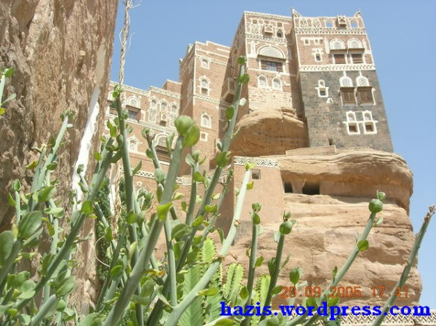 salah satu peninggalan kesan dari Istana ratu Balkis di zaman nabi sulaiman yang terdapat di Yaman 2
