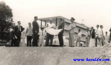Tahun 1960an - Lawatan DYMM Sultan Abu Bakar ke Temerloh2