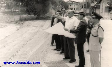 Tahun 1960an - Lawatan DYMM Sultan Abu Bakar ke Temerloh3