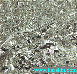 image pertama dari satelit razakSAT