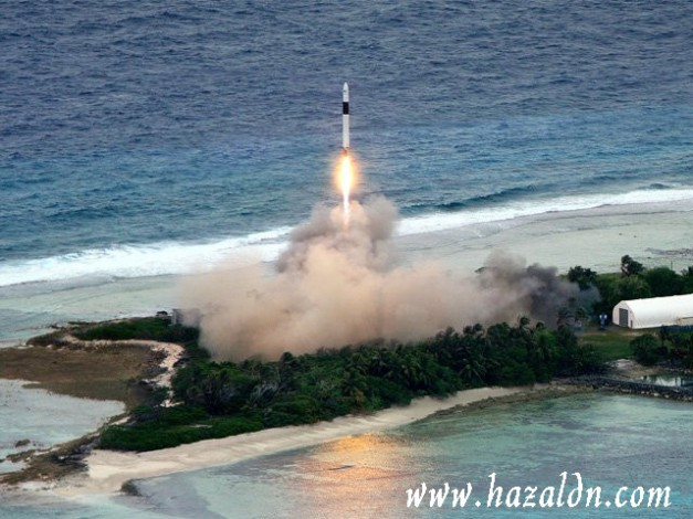 pelancaran razakSAT di Guam