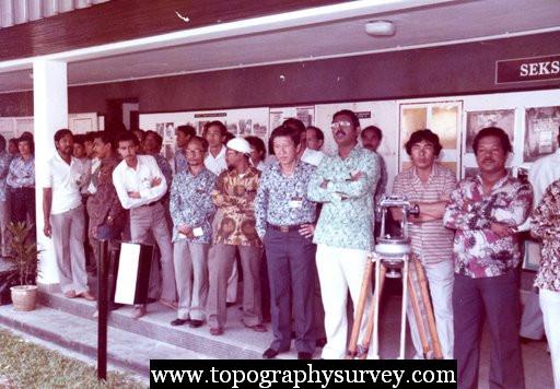 Sejarah Jabatan Ukur Topography Explorer