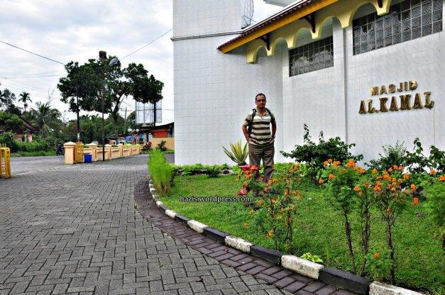 Masjid Al Kamal di Sibolangit. Medan