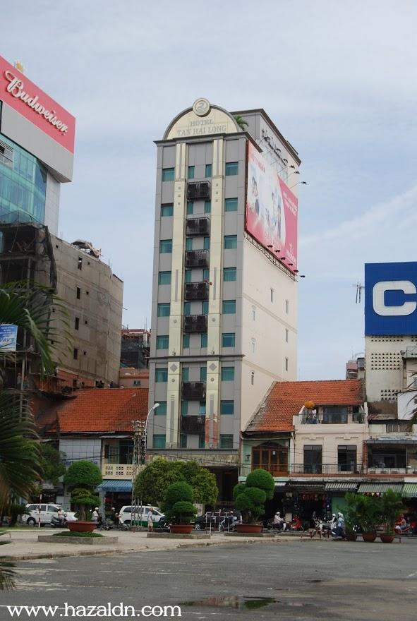 hotel kami menginap tan hai long di tengah bandar ho chi m inh