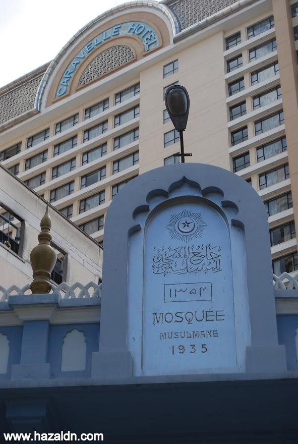 masjid di pusat bandar ho chi minh 3