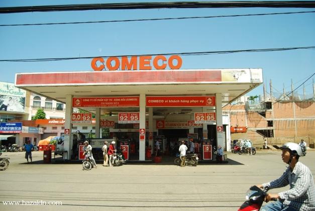 petrol station - harga petrol di Vietnam 0.80 USD = RM2.80