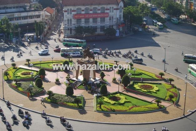 traffik di pusat bandar ho chi minh city 1