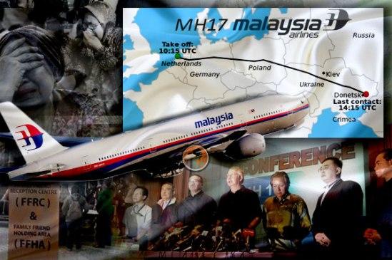 TRAGEDI  MERAGUT 280 NYAWA  MH 17.
