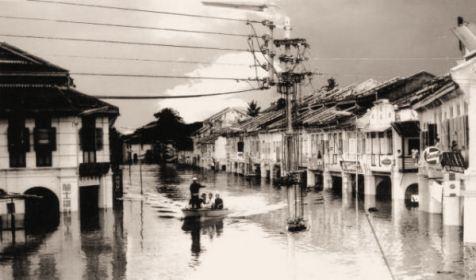 banjir besar kuala lipis 1971