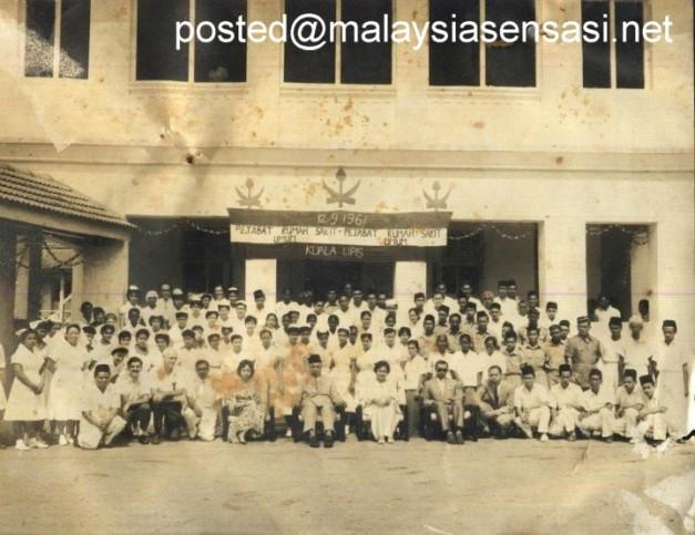 Rumah sakit Kuala Lipis tahun 1961