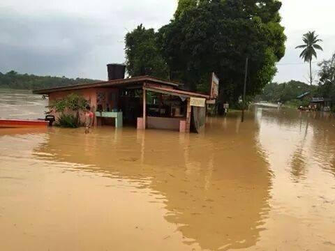 Banjir di Kg. Durian Tikus, Lebak