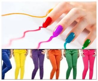 wanita dan warna