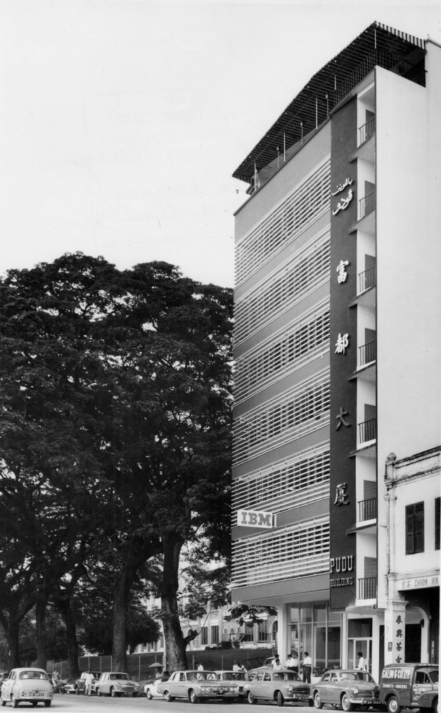 11. 1960 – Pejabat IBM Malaysia di Jalan Pudu